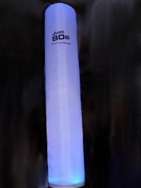 LED Aircone 2,75m Säule mit Werbelogo (30x30cm) - Tagesmiete - Mieten