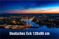 02-Fotodruck auf Leinwand 120x80 cm - Koblenz Münz-Firmenlauf