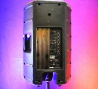 LD Aktiv PA Box 1 Paar mit eingebautem Mixer + 2 Stative, Tagesmiete - Mieten