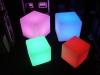 Akku-LED-Würfel 30x30x30 cm - Tagesmiete - Mieten