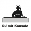 DJ mit Konsole