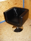 Lounge-Sessel Leder schwarz - Tagesmiete - Mieten