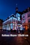 08-Fotodruck auf Leinwand 120x80 cm - Mayen Rathaus