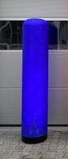LED Aircone 2,50m Säule blau - Tagesmiete - Mieten