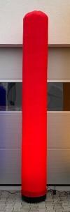 LED Aircone 3,00m Säule rot - Tagesmiete - Mieten