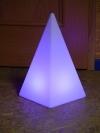 Akku-LED-Pyramide Höhe 48 cm - Tagesmiete - Mieten