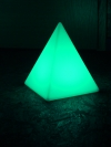 Akku-LED-Pyramide Höhe 30 cm - Tagesmiete - Mieten