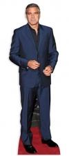 Pappaufsteller George Clooney lebensgroß - Tagesmiete - Mieten