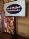 LCD-Screen 60 Zoll - Tagesmiete - Mieten