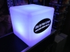 Akku-LED-Würfel 40x40x40 cm mit Firmenlogo - Tagesmiete - Mieten