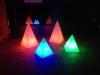 Akku-LED-Pyramide