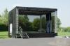 Mobile Veranstaltungsbühne 6x6 oder 6x4 m - Tagesmiete - Mieten(Mobilbühne, mobile Bühne)